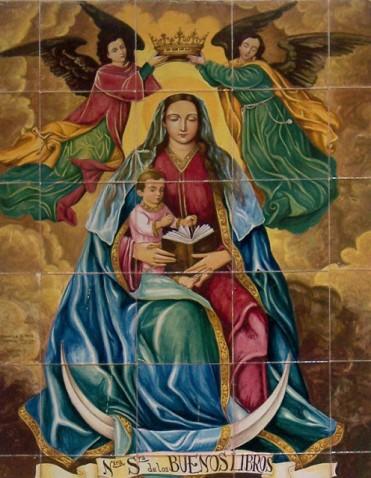 """""""Nossa Senhora dos Bons Livros"""" por Pe. Luiz Antônio Pereira"""
