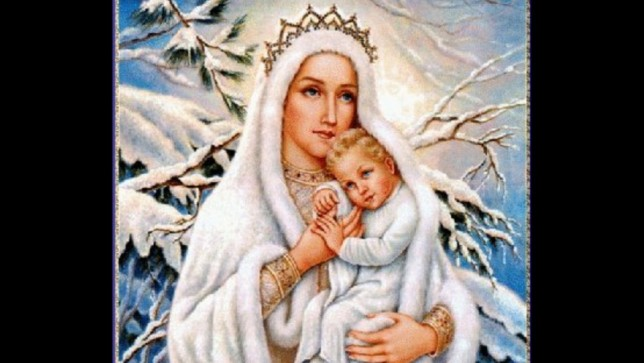 Nossa Senhora das Neves, por Pe Luiz Antônio Pereira