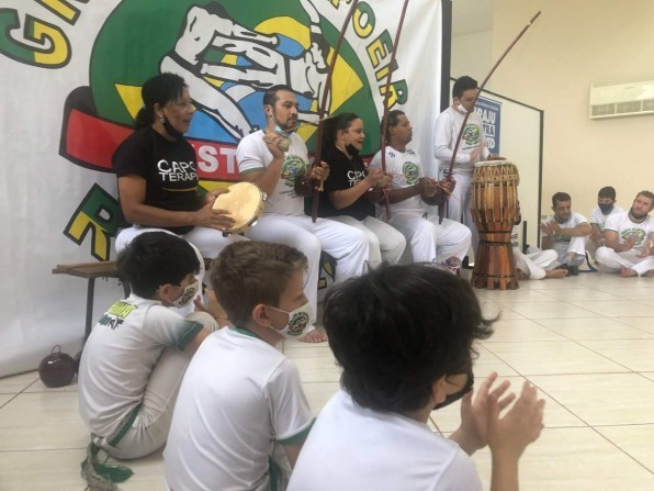Encontro de capoeiristas vem reunindo várias cidades em Piraju