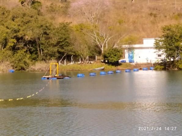 Nesta segunda (26) represa de Piraju deve baixar para obras do Parque das Águas no canto do rio