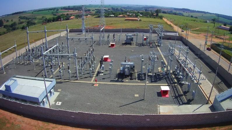 Cerqueira César recebe nova subestação de energia da CPFL Santa Cruz