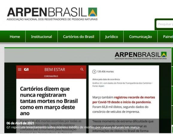 Sudeste e três Estados brasileiros registram mais mortes do que nascimentos em abril