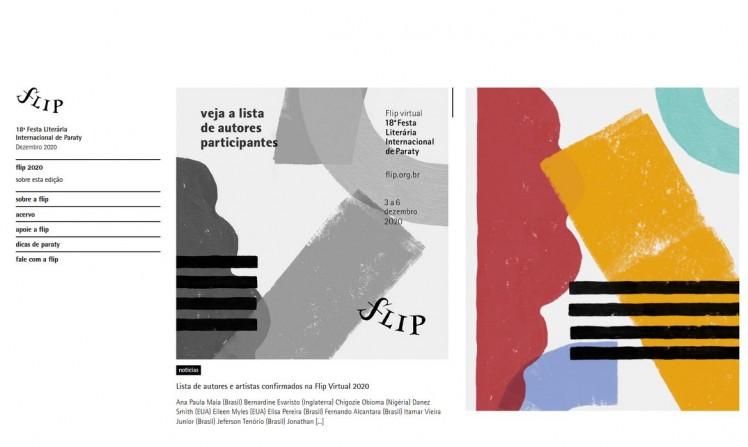 Flip 2020: conheça a lista completa de autores convidados (Agência Brasil)