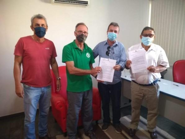 José Carlos Garcia e Lauro de Melo pedem recursos para a Saúde ao deputado Giriboni