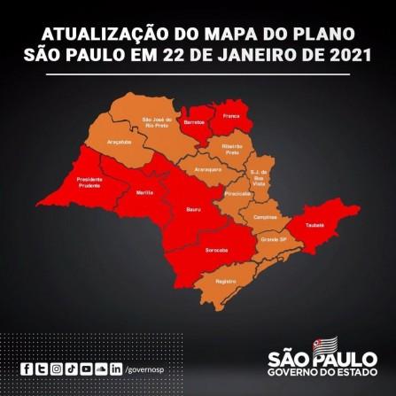 ASSISTA A COLETIVA DO GOVERNO DE SP SOBRE ENTREGA DE VACINAS E A MUDANÇA PARA FASE VERMELHA
