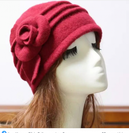 Boinas e chapéus de feltro, máscaras e bandanas de vários gêneros