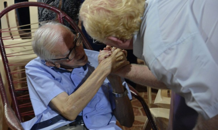 Bispo dom Pedro Casaldáliga morre aos 92 anos, em Batatais, São Paulo (foto Wilson Dias/ag. Brasil)