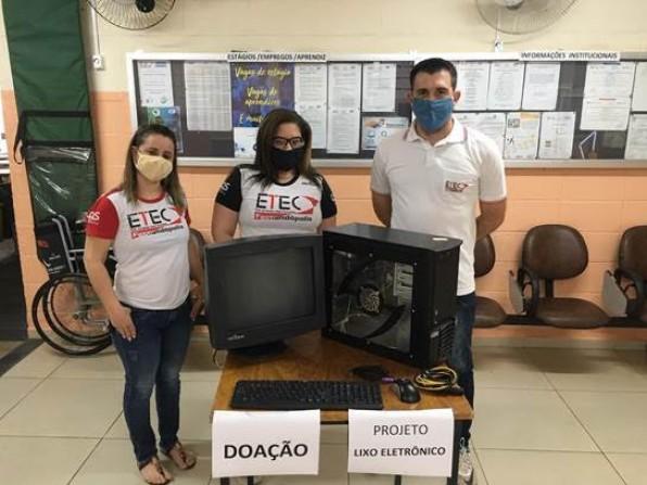 Etecs e Fatecs arrecadam computadores e celulares para estudantes na quarentena