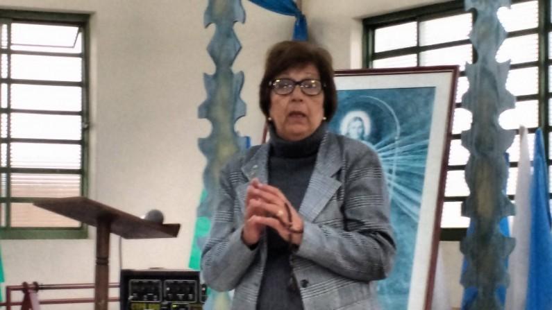 Faleceu a Legionária de Maria,  Silvia Cesário Oliveira, dona Silvia