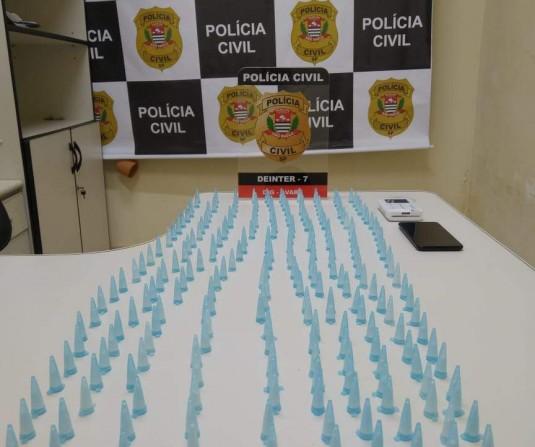 AVARÉ: Casal compra cocaína no litoral para vender em Avaré, mas é preso pela Polícia Civil