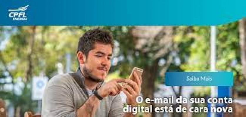 CPFL Energia chega a mais de 4 milhões de clientes cadastrados para receber a conta por e-mail