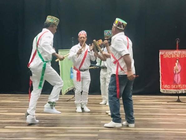 Moçambique participa do Revelando SP e já gravou vídeo de dança que é patrimônio cultural de Piraju