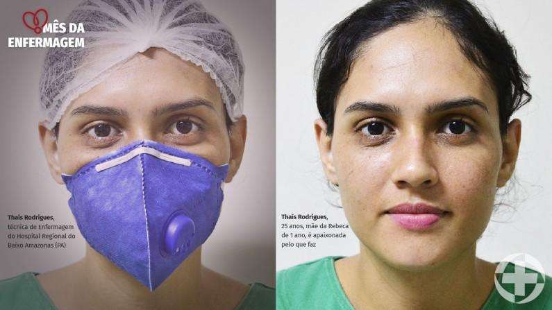 Fotografias valorizam profissionais de Saúde