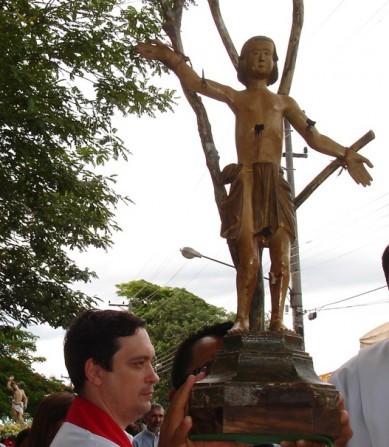 Festa de São Sebastião começa segunda com programação na Igreja Matriz de Piraju