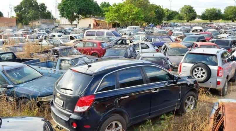 Detran.SP promove leilões de veículos em pátios no Estado